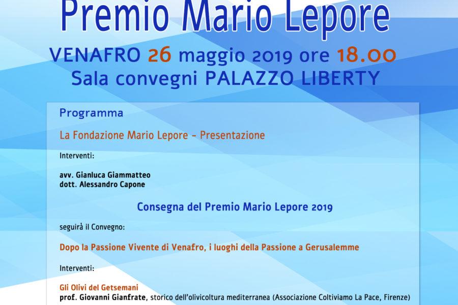 Premio Mario Lepore – Prima Edizione